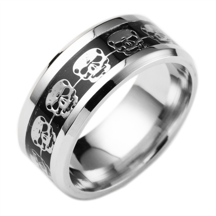 Skull Ring, Fingerring Totenkopf